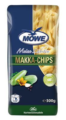 """Produktbild Möwe-Teigwaren """"Meine Liebsten ...""""  Makka Chips 500 g"""