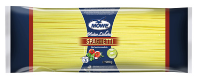 "Produktbild Möwe-Teigwaren ""Meine Liebsten ...""  Soaghetti 500 g"