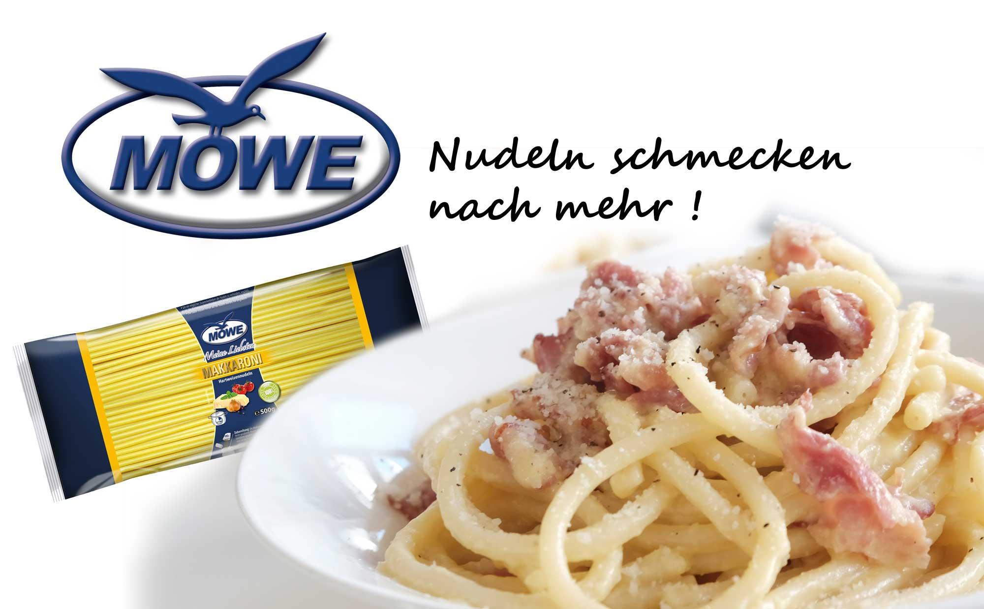 Möwe-Nudeln schmecken einfach nach mehr!